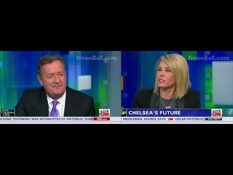 FULL – CHELSEA  HANDLER SLAMS & EMBARRASSES PIERS MORGAN ON HIS OWN CNN SHOW – BITCH VS FOREIGNER