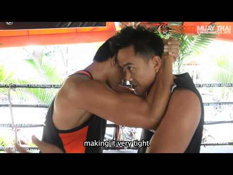 Basic Muay Thai Techniques By Champions: Knees From the Clinch Image 1