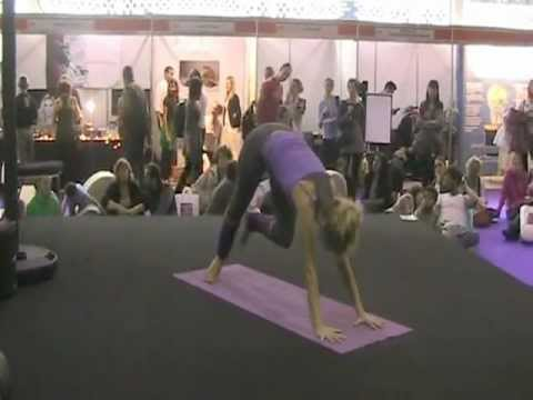Sun Power Yoga by Magda at The Yoga Show 2011 London.mpg