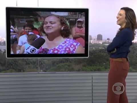 Homenagem da equipe do RJTV pra Ana Paula Araújo