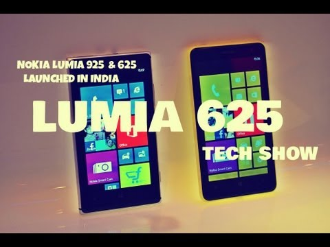 NOKIA LUMIA 625 LAUNCHED in INDIA (TECH SHOW)