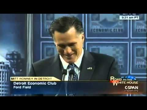 Romney speech falls flat in Detroit