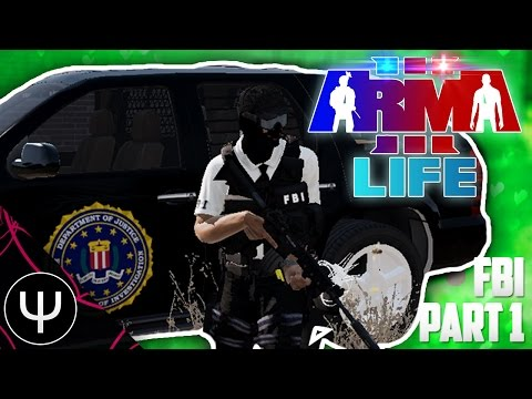 ARMA 3: Life Mod — FBI — Part 1 — That's Classified!