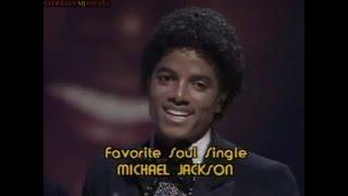 MICHAEL JACKSON EN LOS  AMERICAN MUSIC AWARDS 1980  ( AMAs )