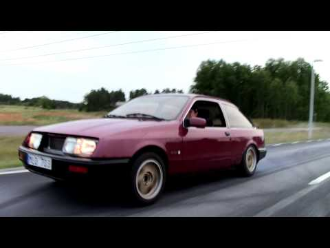 Ford Sierra 2,9i Turbo playing around