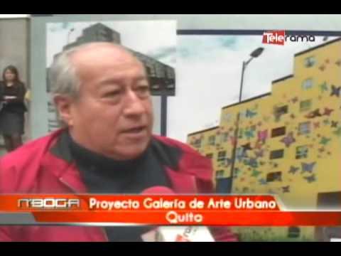 Proyecto Galería de Arte Urbano Quito
