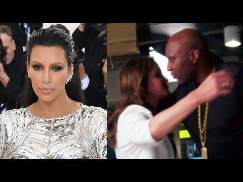 Kim Kardashian Recalls Telling Lamar Odom About Caitlyn Jenner