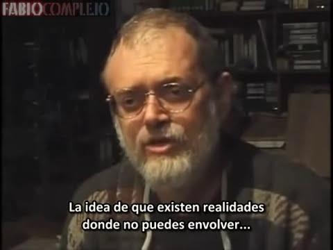 Terence Mckenna: última entrevista en cámara antes de morir. Parte 1/2 (subtitulada español)