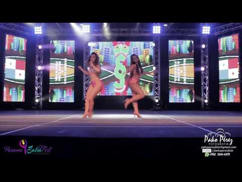 Madeleine y Allison de PANAMA en Panama SalsaFest 2017 #1