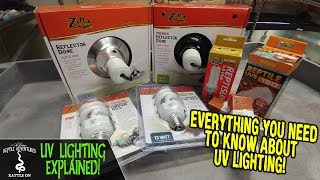 UV LIGHTING FOR YOUR REPTILE EXPLAINED! (everything you need to know about UV lighting)