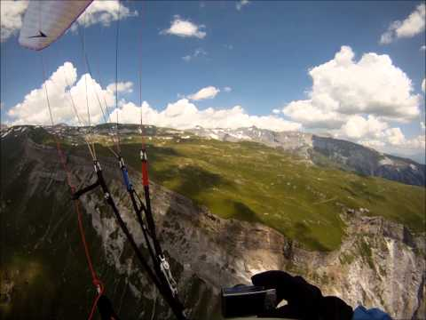 Paragliding Flims - 26.7.13 - Hd video