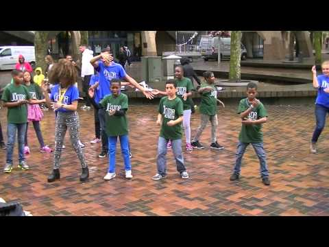 ECHO Junior Academy Zuidoost Flashmob 2014