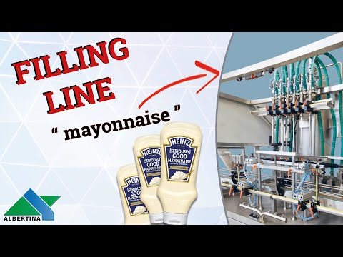 Albertina - Complete filling line for mayonnaise