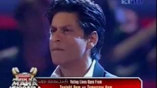 Shahrukh Khan,music Ka Maha  Muqqabla Part 4