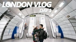 PrettyGeeky Vlog 8: Europe Trip -London Day 1
