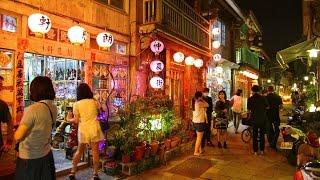 [台灣旅遊]台南神農街小品景點走進歷史老屋街道|Tainan travel old street