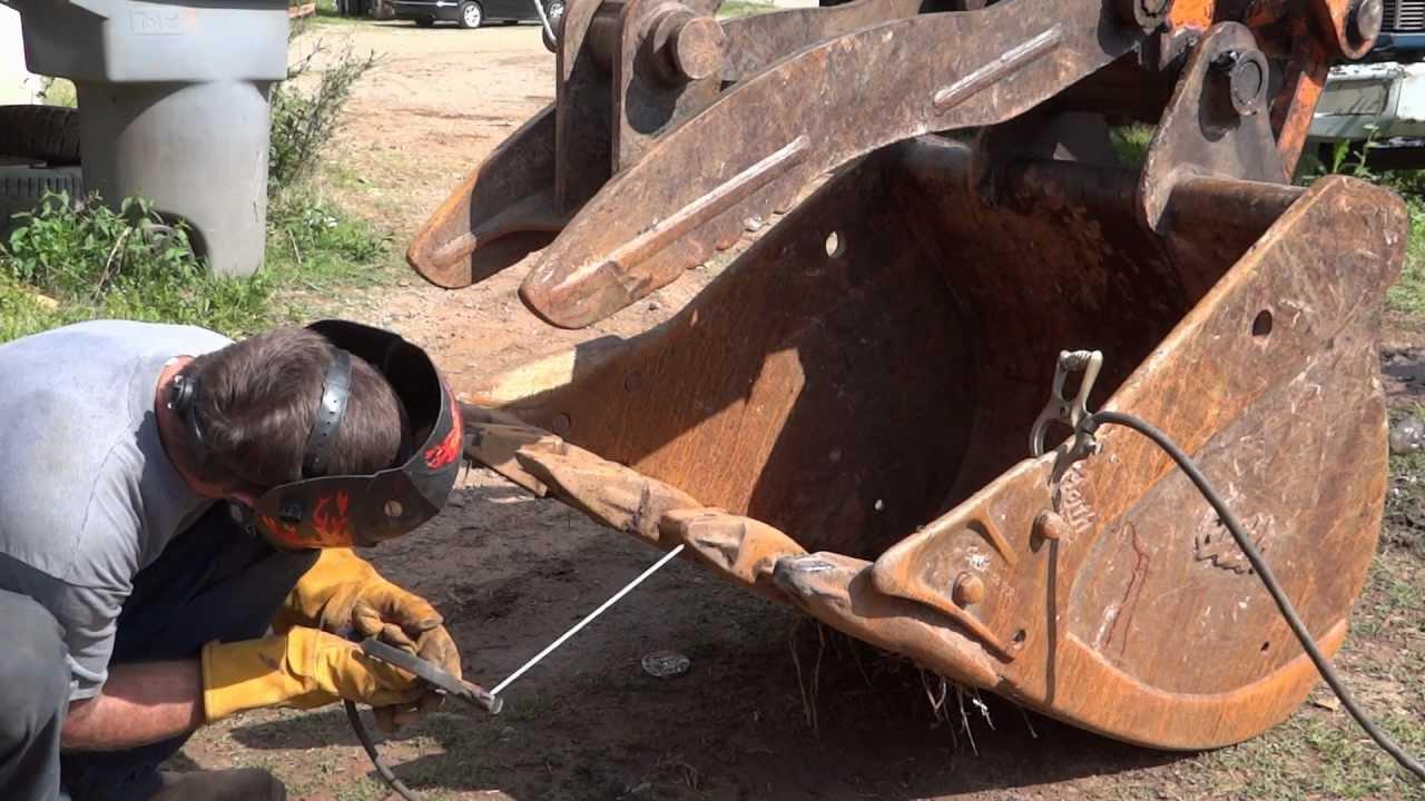 Welding Project Excavator Bucket Teeth And Thumb