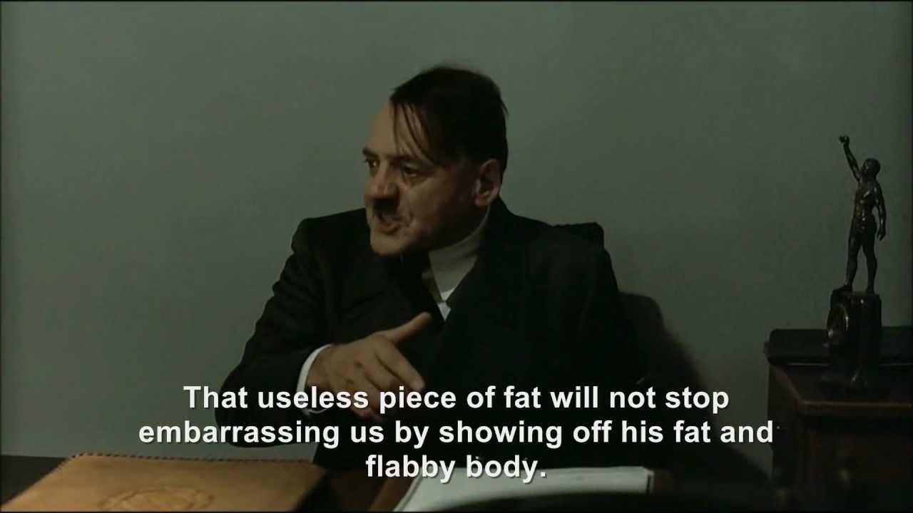 "Hitler is informed ""Hitler encounters half-naked Göring"" has been removed"