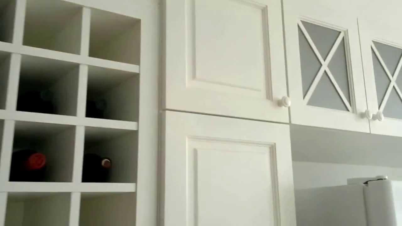 de cocina en madera con terminacion en blanco satinado  YouTube