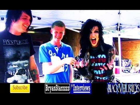 Black Veil Brides Interview #4 Andy Biersack & Matt Good Warped Tour 2011