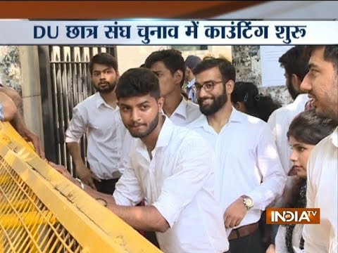 DUSU Election Result 2018: Counting of votes underway