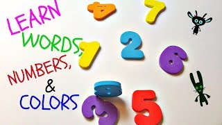 ABC Colors Shapes & Numbers | Children Nursery Rhymes & Songs for Kids | Learn Colors
