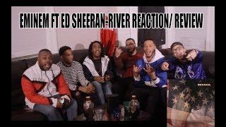 Download Lagu EMINEM FT ED SHEERAN-RIVER REACTION/ REVIEW Gratis STAFABAND