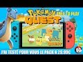 POKEMON QUEST SWITCH, que vaut le pack à 30€ du FREE TO PLAY? | EPISODE 03 le lot daventurier 3en1