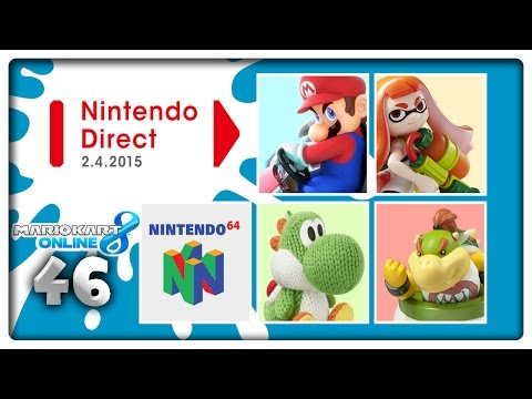 Let's Play MARIO KART 8 ONLINE Part 46: Zelda Wii U Delay & Direct News