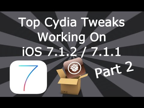 NEW Top Cydia Tweaks Working On iOS 7.1.2 / 7.1.1 iPhone, iPad & iPod Touch Part 2 August Music Videos