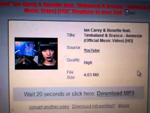 Convert youtube Songs to mp3 High Quality without Program !!!