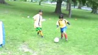 """Little Messi"" - Small Sided Games 1V1 - Feat. 7 Yr Old Hassan Ayari"