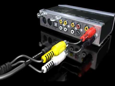 Native Instruments - Traktor Scratch Pro - Tutorial - Audio 8 DJ - Connecting the Mixer Segments