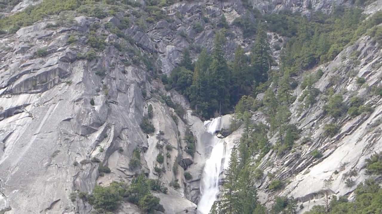 Yosemite Creek Snow Creek Falls Yosemite