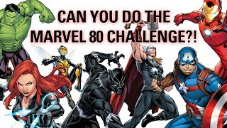 Can YOU name 80 Marvel characters in 60 seconds?!