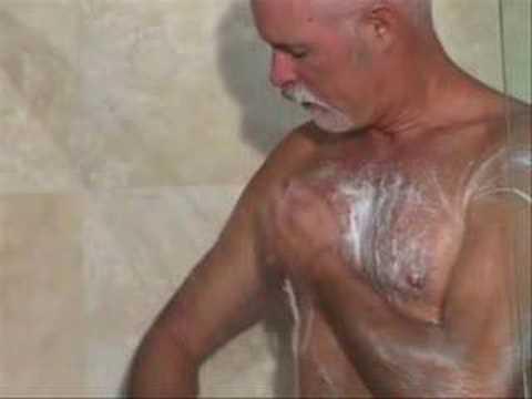 Bear Daddy Shower video