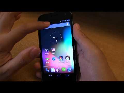 Verizon Galaxy Nexus Running Jelly Bean Android 4.1