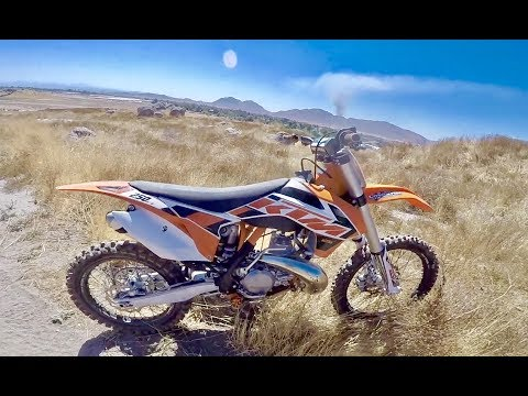 2018 KTM FUEL INJECTED 2 STROKE REVIEW!!!
