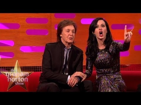 Katy Perry Surprised that Paul McCartney is Still Alive - The Graham Norton Show