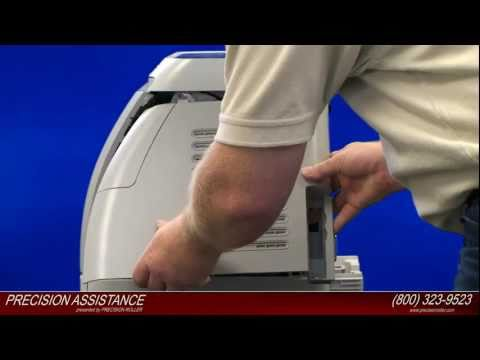 HP Color LaserJet 2600N Maintenance Kit Instructional Video