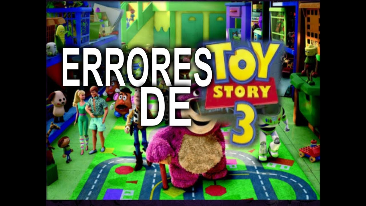 Errores de la pel cula toy story 3 youtube - Cochon de toy story ...