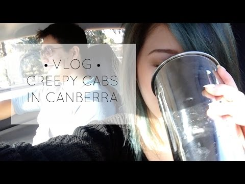 VLOG • Creepy Cabs in Canberra