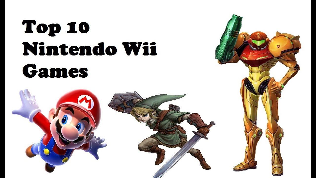 Wii Games List 2012 : Top best wii games ever  youtube