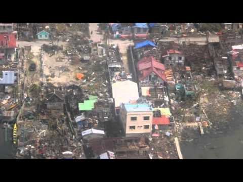 Typhoon Yolanda Aftermath In Guiuan, Eastern Samar video