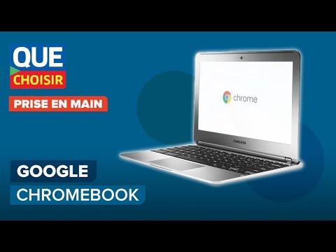 Ordinateur Google Chromebook - Prise en main