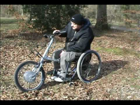 TEAM HYBRID HANDCYCLES Viper Power Cycle Docking on to your wheelchair