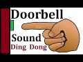 Ding Dong Sound Effect Door Bell Sounds Effects Doorbell Timbre Efecto De Sonido Casa for Dogs Loud