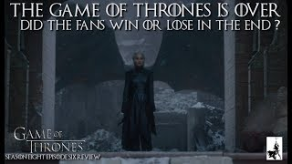 Game of Thrones Finale: Mother of all disappointments or satisfying conclusion?