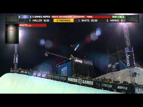 Shaun White wins Snowboard SuperPipe finals