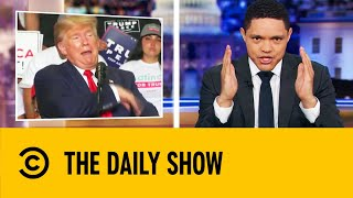 Trump's New Mexico Rally Gets Off To A Weird Start | The Daily Show With Trevor Noah